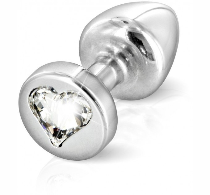 Анальная Пробка Diogol Anni R Heart Silver Кристалл 25мм