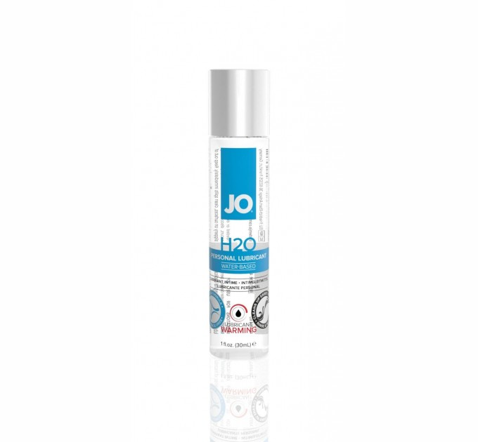 Лубрикант на водной основе System JO H2O - WARMING 30 мл (SO1449)