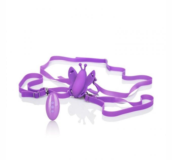 Стимулятор California Exotic Novelties Remote Wireless Butterfly Фиолетовый