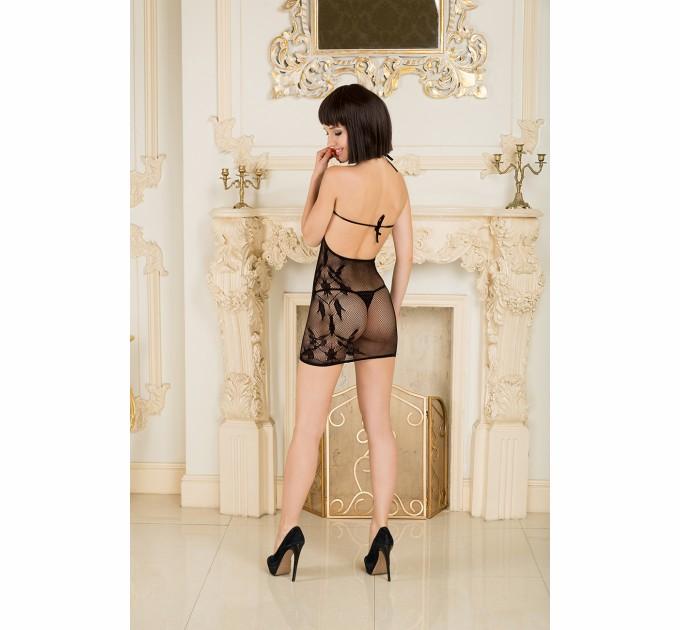 Прозрачное ажурное мини платье Dolce Piccante Lingerie