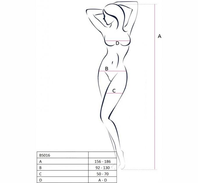 Бодистокинг Passion Bs016 White (2466594)