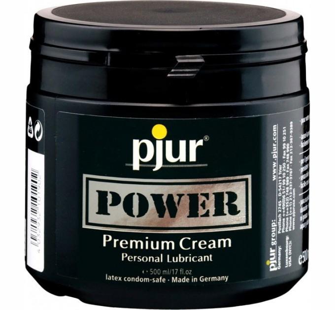Анальная Смазка Pjur Power Premium Cream 500мл (2442949)