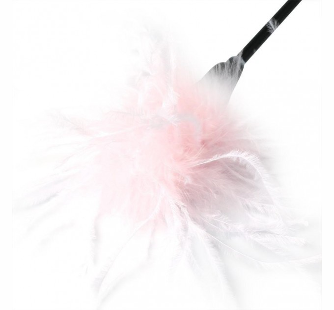 Метелочка Sex&Mischief Whip & Tickle Pink/White (SO2186)