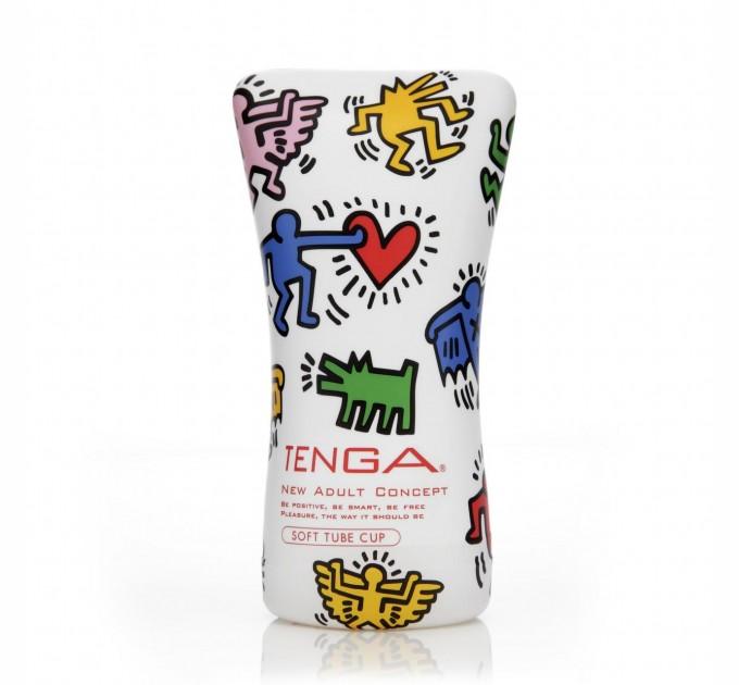 Мастурбатор Tenga Keith Haring Soft Tube Cup (SO1648)