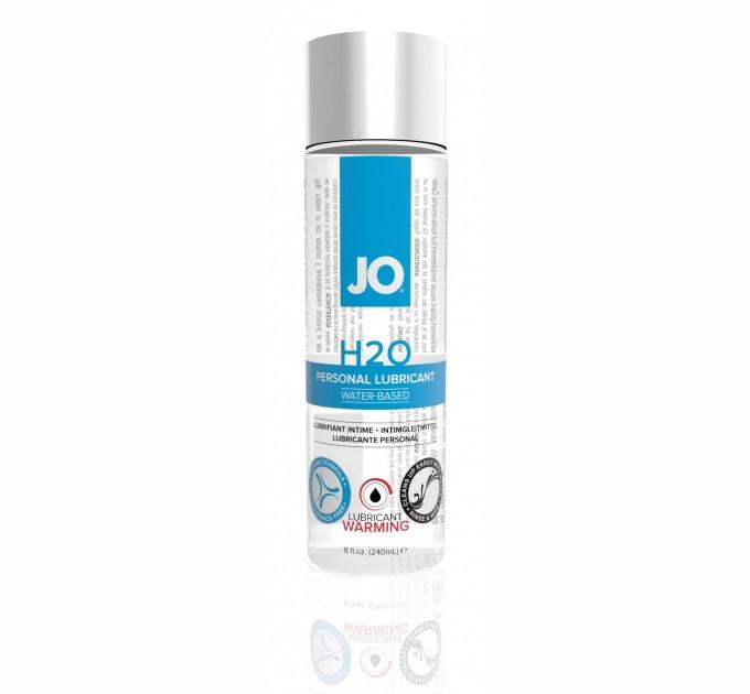 Лубрикант на водной основе System JO H2O - WARMING 240 мл (SO1785)