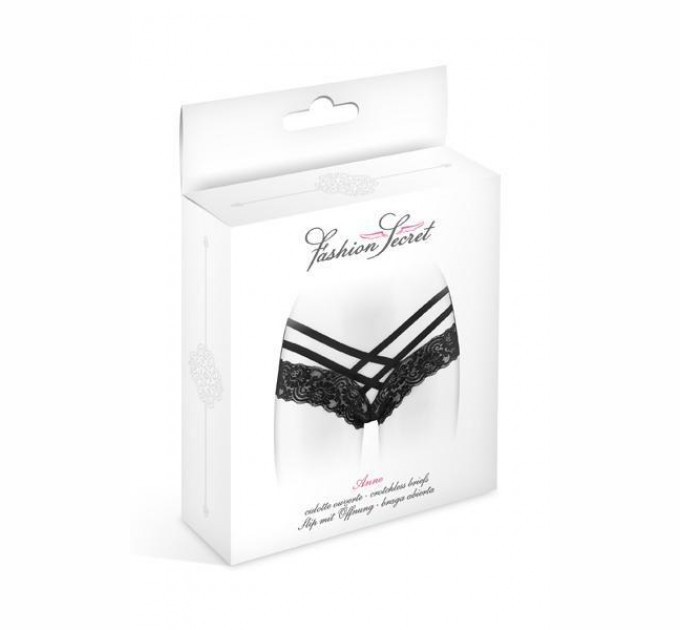 Трусики Fashion Secret ANNE S/M Black (SO2251)
