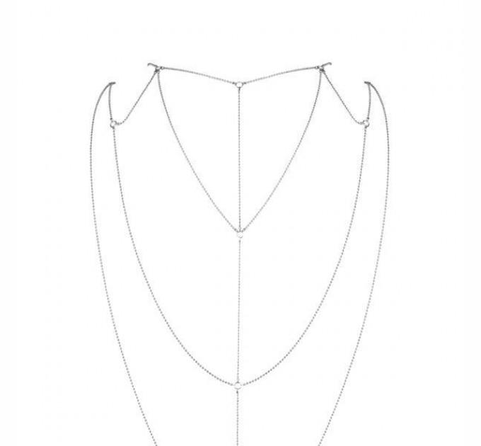 Украшение для спины и декольте Bijoux Indiscrets Magnifique Back and Cleavage Chain (SO2655)