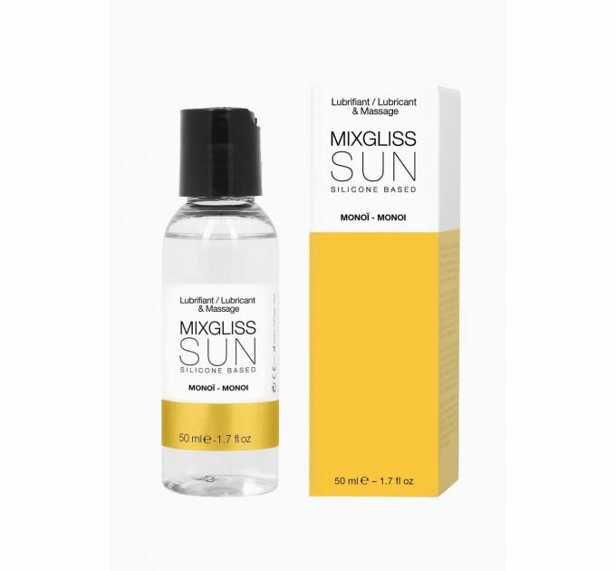 Лубрикант на силиконовой основе MixGliss SUN MONOI 50 мл (SO1351)