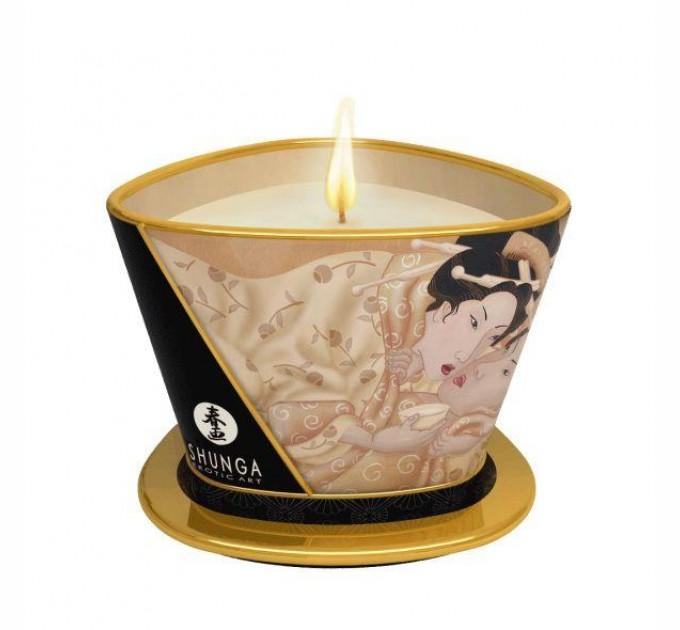 Массажная свеча Shunga MASSAGE CANDLE - Vanilla Fetish 170 мл (SO2511)
