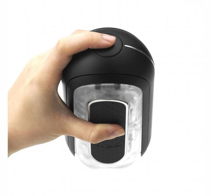 Мастурбатор Tenga Flip Zero Electronic Vibration Black (SO2445)