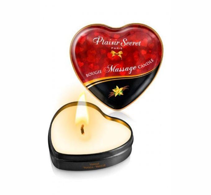 Массажная свеча Plaisirs Secrets Vanilla 35 мл (SO1865)