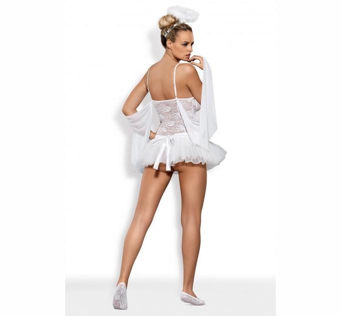 Эротический костюм ангела Obsessive Swangel