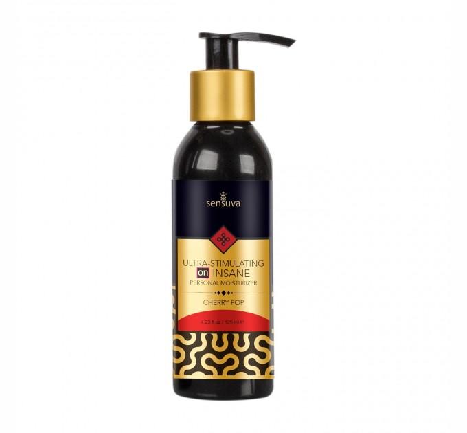 Возбуждающая смазка на гибридной основе Sensuva - Ultra-Stimulating On Insane Cherry Pop (125 мл) (USO3275)
