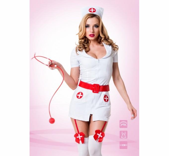 Эротический костюм TouchMe_BR Похотливая медсестра S/M
