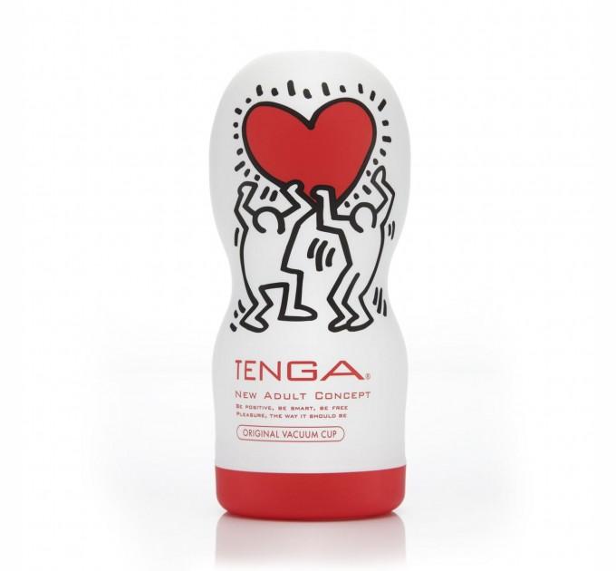 Мастурбатор Tenga Keith Haring Deep Throat Cup (SO1647)