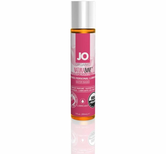 Вагинальная Смазка System Jo Naturalove-Strawberry 30мл (2442838)
