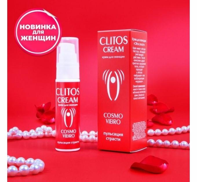 Жидкий вибратор Clitos cream 25 г (LB23149)