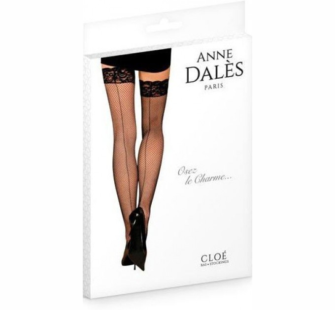 Эротические Чулки Anne De Ales Cloe T4 Black (2679818)