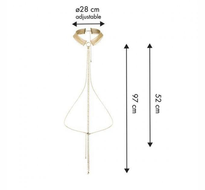 Украшение-ошейник Bijoux Indiscrets MAGNIFIQUE Collar Gold (SO2653)