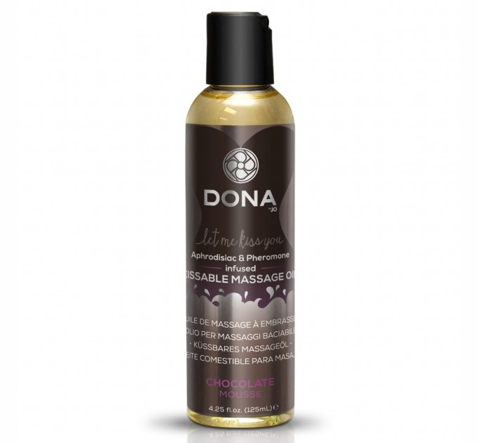 Массажное масло DONA Kissable Massage Oil Chocolate Mousse 110 мл (SO1535)