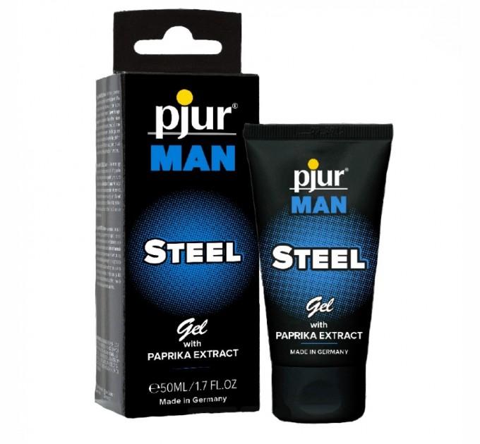 Гель для пениса массажный Pjur MAN Steel Gel 50 мл (PJ12910)