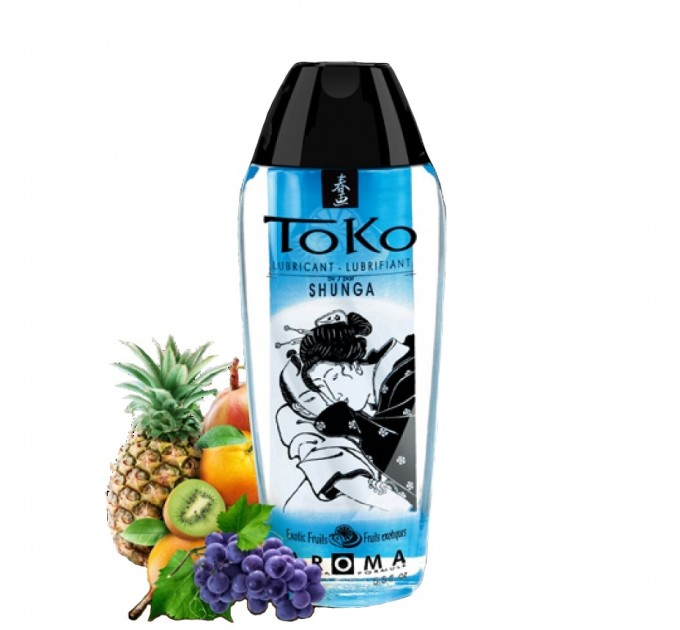 Лубрикант на водной основе Shunga Toko AROMA Exotic Fruits 165 мл (SO2533)