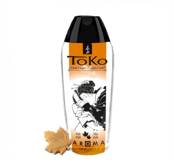 Лубрикант на водной основе Shunga Toko AROMA Maple Delight 165 мл (SO2537)