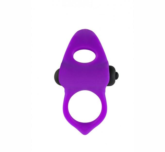 Эрекционное кольцо Adrien Lastic Lingus MAX Violet с вибрацией (AD30723)