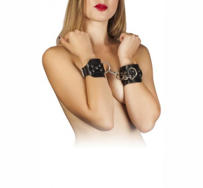 Наручники Slash Leather Hand Cuffs black