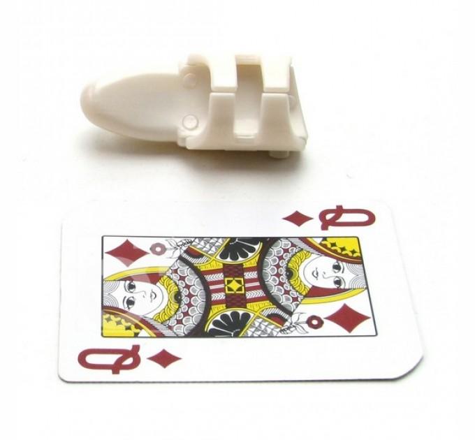 Маленький пластиковый вибратор перстень Seven Creations Finger Tip