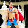 Мужской эротический костюм супермена S/M Готовый на всё Стив (SO2292)