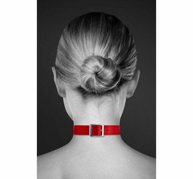 Чокер Bijoux Pour Toi FETISH Красный (SO1880)