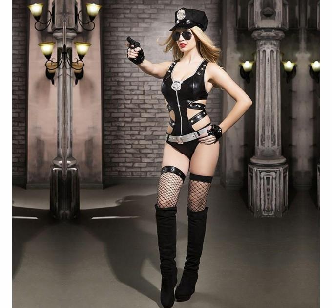 Эротический костюм полицейского S/M Ненасытная Николь (SO2285)