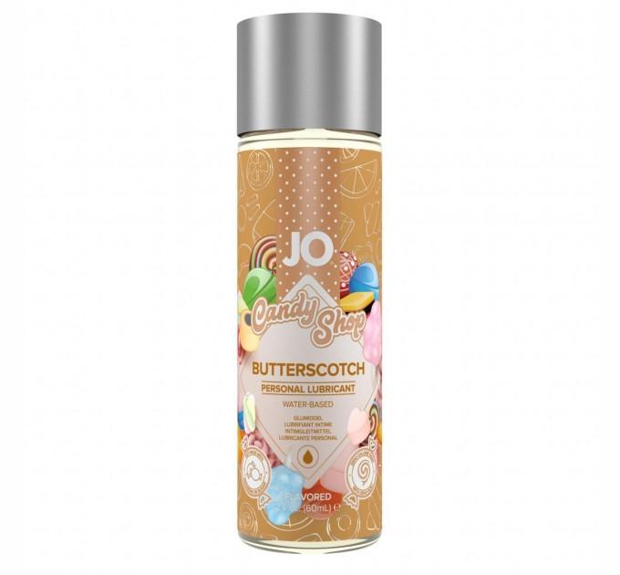 Лубрикант на водной основе System JO H2O Candy Shop Butterscotch 60 мл (SO2617)