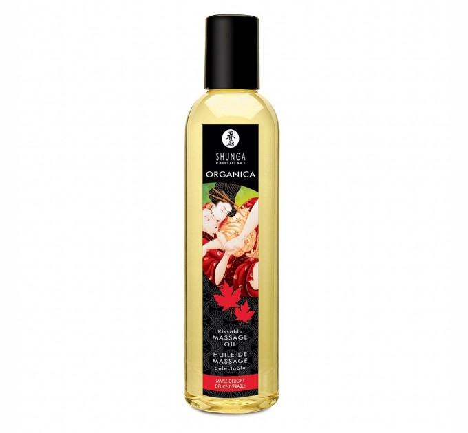 Органическое массажное масло Shunga ORGANICA - Maple Delight 250 мл (SO2881)