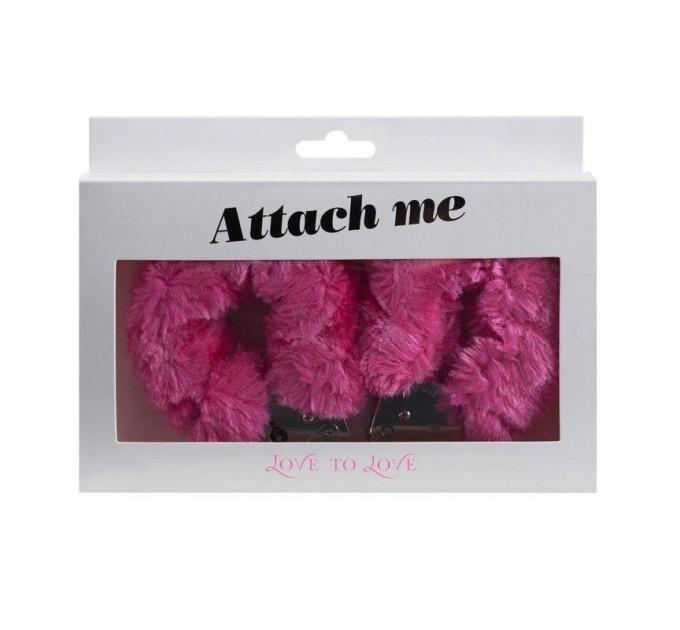Наручники Love To Love ATTACH ME Pink (SO1401)