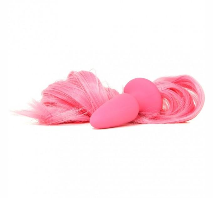 Анальная пробка с хвостиком Ns Novelties Unicorn Tails Pastel